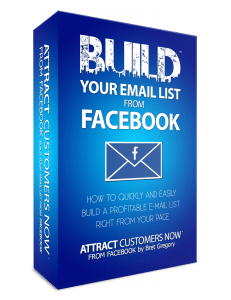 build your email list with facebook