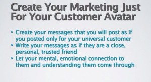 Marketing Just for Your Perfect Customer