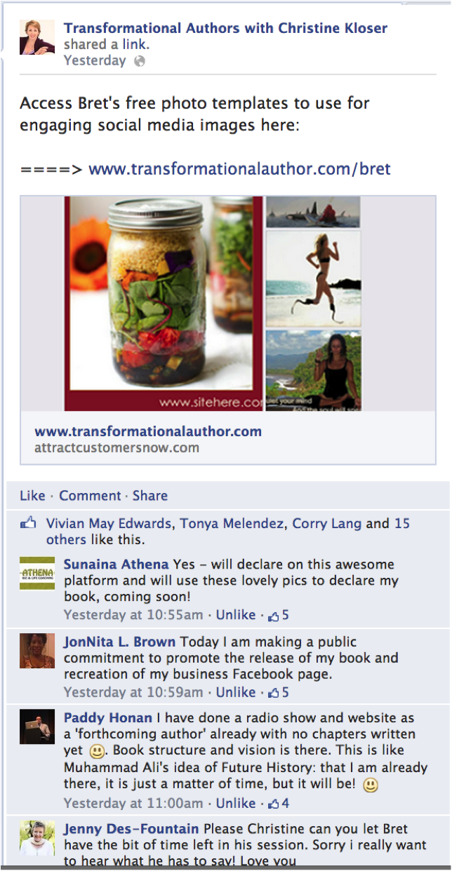 find customers using facebook