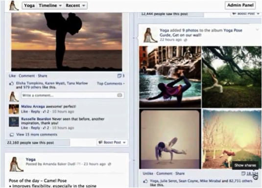 photo album stack for viral facebook ad 2