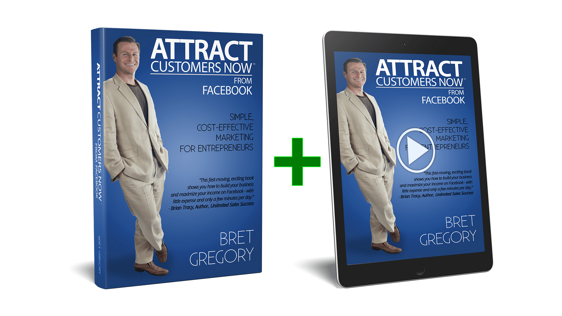 Video Version of Attract Customers Now From Facebook Book