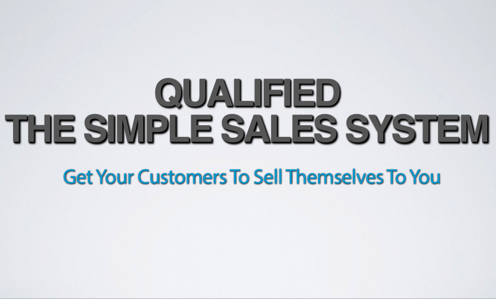 Qualified Simple Sales System